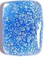 Use Colored Bubble Powder To Make A Fused Glass Pendant