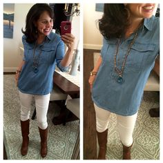Pinterest Told Me To: Everybody Needs a Chambray Shirt!