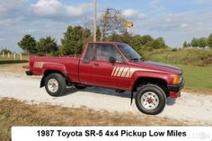 1987 4X4 Toyota Pickup Turbo RARE Toyota Trucks For Sale, 4x4, Monster Trucks, Vehicles, Car, Vehicle, Tools