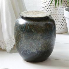 Tozai Home Tiger Prawn Round Design Pot Porcelain