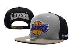 Top NBA Los Angeles Lakers M&N Strapback Hat NU13 Cheap Sale