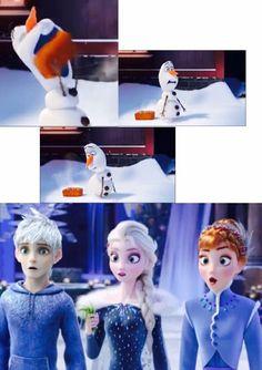 Xd their faces! Arte Disney, Disney Fan Art, Disney Fun, Jelsa, Disney And Dreamworks, Disney Pixar, Mystic Messenger Memes, Cool Anime Pictures, Jack Frost And Elsa