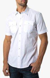 7 Diamonds 'American Band' Trim Fit Cotton Sport Shirt