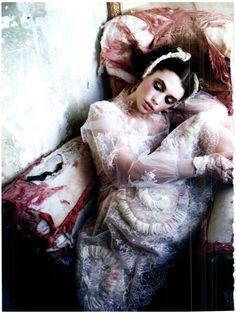 vogue photoshoots | Astrid Berges Frisbey Vogue March 2012