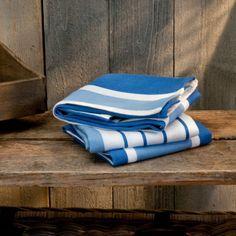 Cottage Stripe Dishtowels 3-Pack