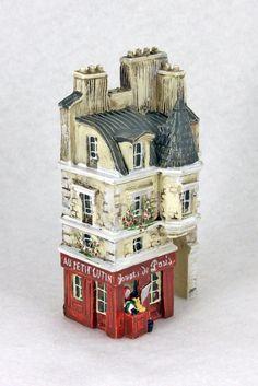 NIB J CARLTON BY GAULT FRENCH MINIATURE MAGASIN JOUETS PARIS BUILDING