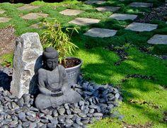 le mini jardin japonais srnit et style exotique archzinefr - Jardin Japonais En Pente