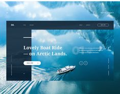 Web design: beautifully designed home pages ux + ui travel w Travel Website Design, Website Design Layout, Web Layout, Travel Design, Layout Design, Website Design Inspiration, Web Design Inspiration, Design Ideas, Ui Ux Design