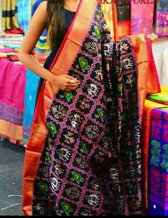 Phulkari Saree, Ikkat Silk Sarees, Indian Attire, Indian Wear, Velvet Saree, Wedding Saree Collection, Stylish Sarees, Soft Silk Sarees, Elegant Saree