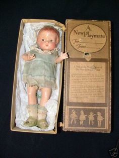 Patsyette factory original      My Mother loved her Patsy dolls