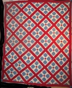 Amish Flower Garden Quilt at ://.antiquequilts.com ... : marie miller quilts - Adamdwight.com