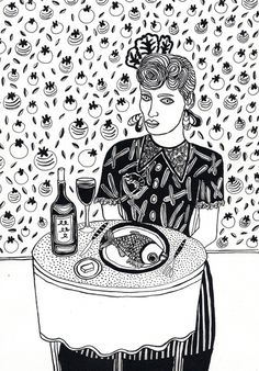 Beautiful illustration by Alice Dansey Wright