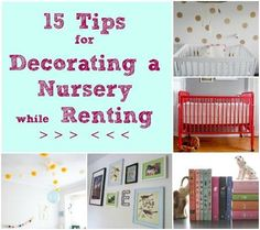From wall decals to vibrant rugs, there are plenty of fun ways to add color to kids room or nursery