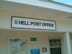 Post Office in Hell Grand Cayman by GAC'63, via Flickr