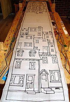 Silk Painting Resist Method