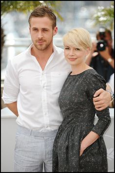 Ryan Gosling & Michelle Williams promoting Blue Valentine in Cannes