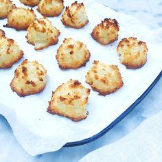 Kokosmakronen maken met 3 ingrediënten www.madebyellen.com