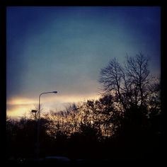 Olomouc sunset