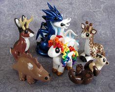 Custom Ornament Set by *DragonsAndBeasties on deviantART