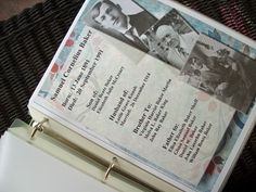 Keep summary pages about ancestors.