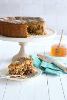 National Honey Board Recipe: Honey Pecan Swirled Coffee Cake