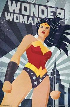 Wonder Woman Constructivism Comic Poster Order TODAY - SPECIAL EDITION Limited Print! Ships securely today in a crush proof poster shipping tube: Click here for more Posters!