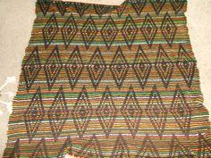crochet afgan, it was the 70's.