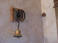 Downton Abbey mechanical doorbell