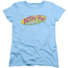 """Checkout our #LicensedGear products FREE SHIPPING + 10% OFF Coupon Code """"Official"""" Astro Pop / Logo-short Sleeve Women's Tee - Astro Pop / Logo-short Sleeve Women's Tee - Price: $29.99. Buy now at https://officiallylicensedgear.com/astro-pop-logo-short-sleeve-women-s-tee"""