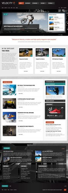 S5 #Velocity - #Responsive Joomla #Temmlate for #News & #Magazine