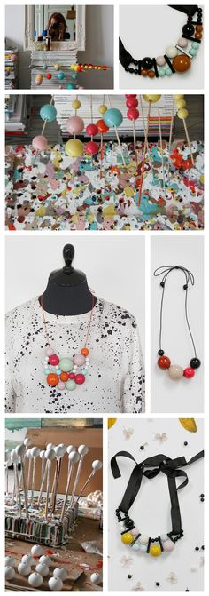 From IAMTHELAB.com Handmade Profiles: Kristina Klarin's Cool Handmade Beaded Wonders