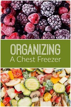 Organzing a chest freezer is easier than you think! Buying in bulk saves you time and money - but you have to be able to store all that food. Love these tips for organzing your chest freezer.