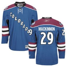 Nathan MacKinnon jersey-Buy 100% official Reebok Nathan MacKinnon Men's Authentic Blue Jersey NHL Colorado Avalanche #29 Third Free Shipping.