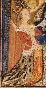 Isabella Stuart ( 1426-1494 ). Principessa scozzese e duchessa consorte di Bretagna.