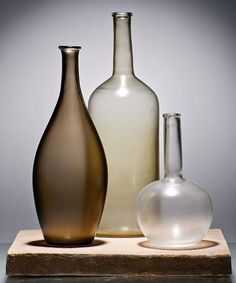 Alla Morandi, limited edition glass collection for Venini, 2012