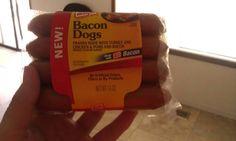 Bacon dogs!! HMMMMMM!
