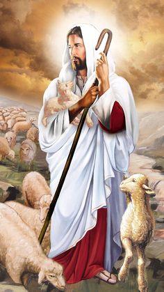My kingdom is not of this world. Jesus Christ Painting, Jesus Art, God Jesus, Lds Jesus Christ Pictures, Jesus Pictures, Jesus Wallpaper, Christ The Good Shepherd, Image Jesus, Jesus Drawings