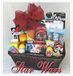 Not your traditional easter basket love this for any little boy i might get some ideas from this basket for my boys negle Images