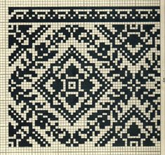 FolkCostumeEmbroidery: More on the costume and embroideryl from Sokal' region, Ukraine Russian Embroidery, Folk Embroidery, Cross Stitch Embroidery, Cross Stitch Borders, Cross Stitch Patterns, Designer Knitting Patterns, Fair Isle Chart, Palestinian Embroidery, Thread Art