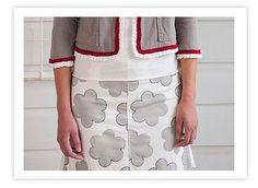 Little Flowers Skirt by annamariahorner, via Flickr
