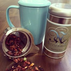 Check out our new line of infuser mugs and tea cups. Now in stock!