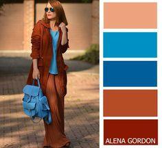 Color-Block Fashion by Alena Gordon Colour Combinations Fashion, Colour Blocking Fashion, Color Combinations For Clothes, Fashion Colours, Colorful Fashion, Color Combos, Color Schemes, Color Blocking, Mode Hippie