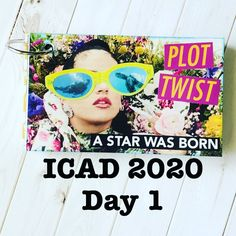 """85 gilla-markeringar, 6 kommentarer - Nikki (@relax.cut.glue) på Instagram: """"ICAD 2020 Day 1❤️ Process video is up on my YouTube page, link is in my bio💻 #dyicad2020 #icad2020…"""" Youtube Page, Yellow Daisies, Index Cards, A Star Is Born, Relax, Challenges, Day, Link, Instagram"""