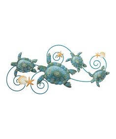 Another great find on #zulily! Sea Turtle Spiral Wall Décor #zulilyfinds