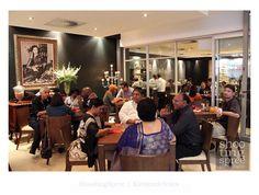 2011 Launch of Nush Indian Restaurant