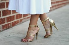 Gold Sandals, Fashion Plates, Steve Madden, Walking, Navy, Heels, Outfits, Accessories, Hale Navy