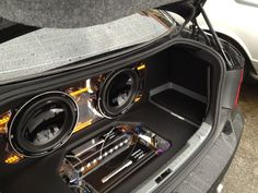 bmw 328 custom car audio install