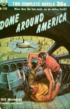 Ace Books - Dome Around America / Paradox Man