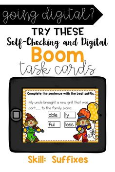 Are you 1:1? Are you looking for a fun way to practice the skill of suffixes in your classroom? This online and interactive activity is perfect for the digital classroom. In this product, you get a link to a website. This activity contains 20 questions relating to the topic of suffixes. Classroom Layout, Flipped Classroom, Classroom Ideas, Teaching Math, Teaching Resources, Reading Skills, Guided Reading, Motivational Activities, Back To School Activities