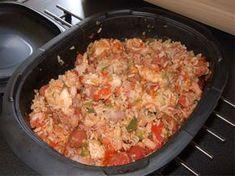 Marmite de poulet au riz à l'espagnole
